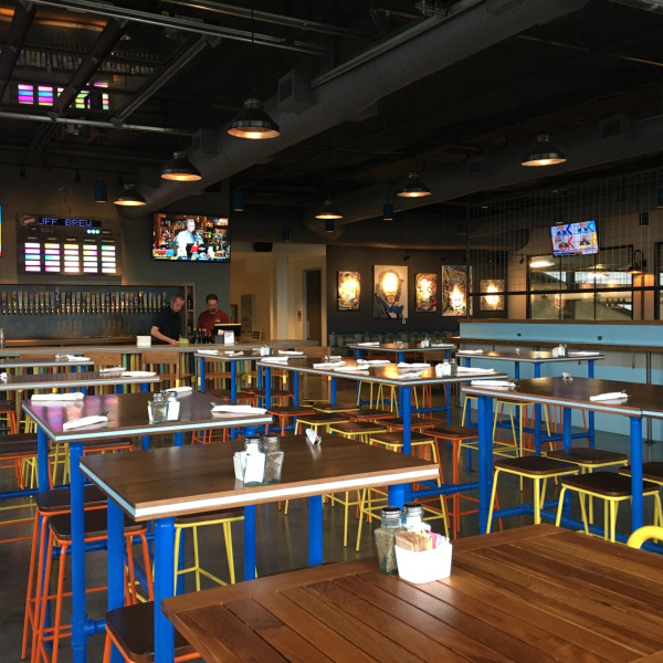 BuffBrew's cool new space, plus a bite at downtown's newest steakhouse