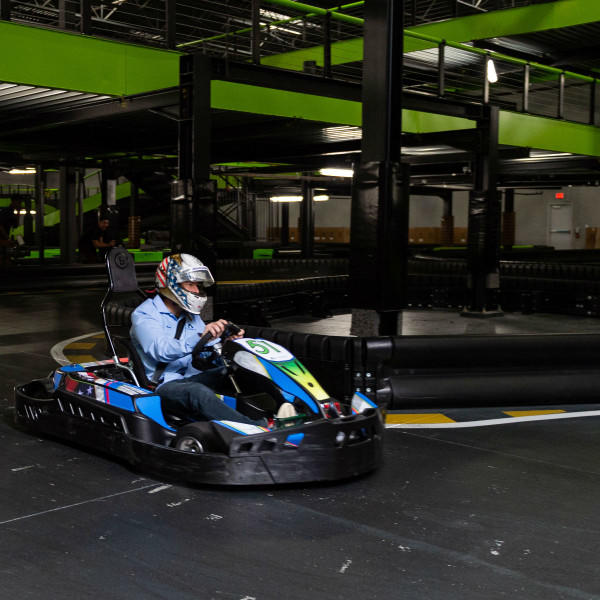 New mega-gaming and indoor go-karting playhouse speeds into Katy