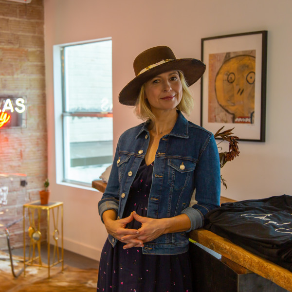 All cameras are on Dallas for PBS's Samantha Brown's Places to Love