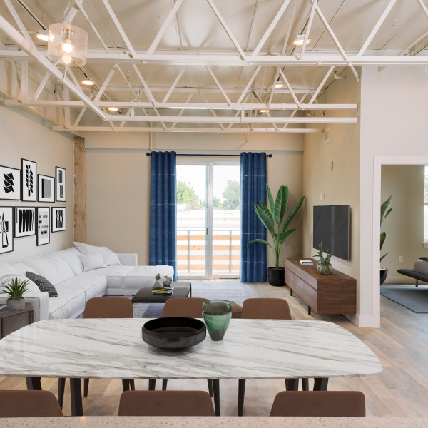 New boutique lofts give Southtown a jolt of industrial-chic energy
