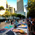 Craig D. Lindsey : Massive chalk art festival sketches over downtown Houston sidewalks