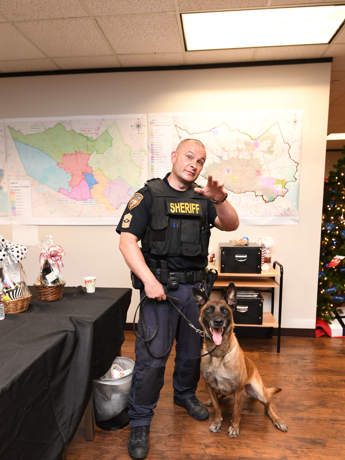 K9s4Cops party, July 2016, Sgt. Chris Moore