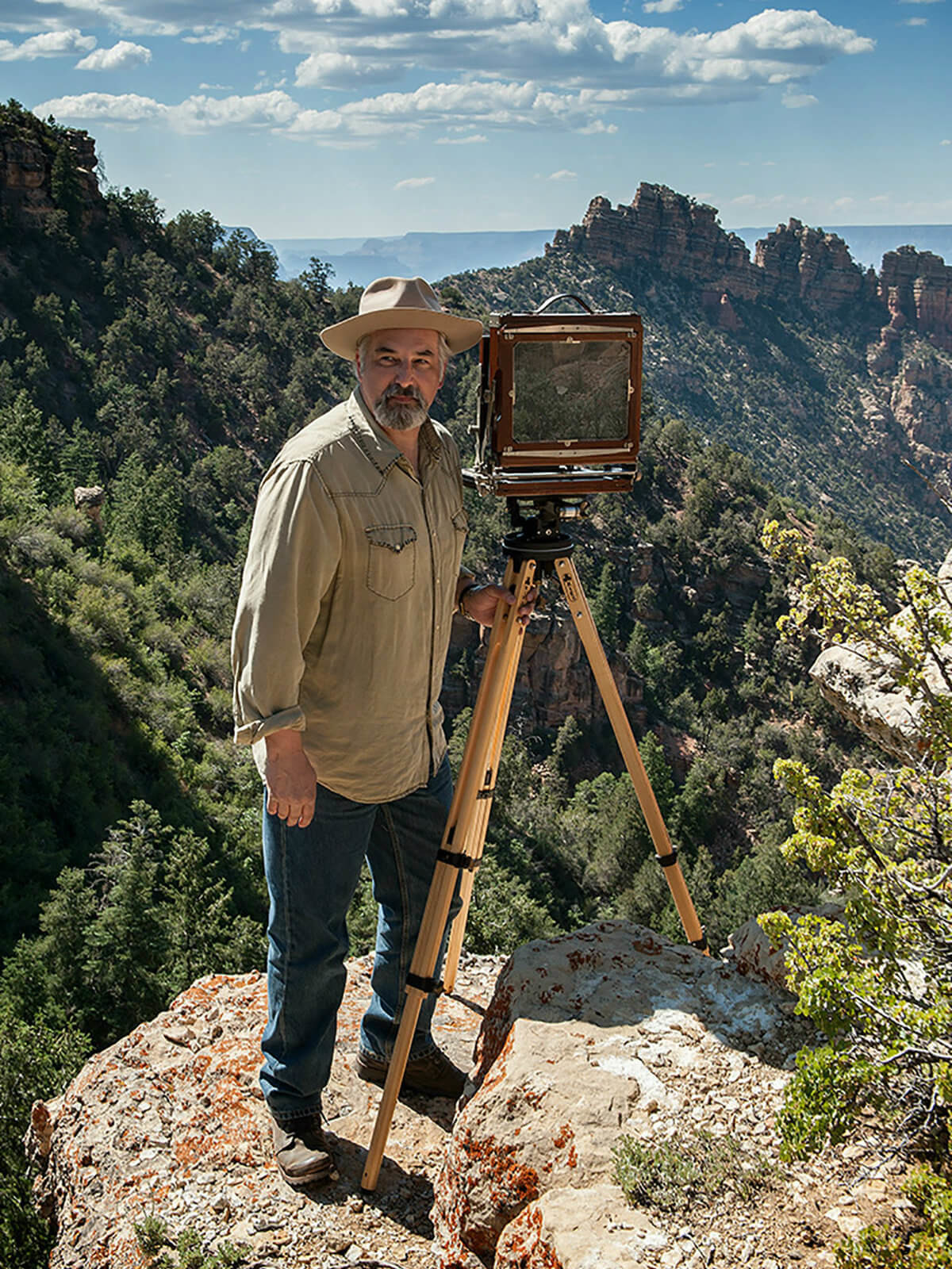 Mark Burns at Grand Canyon