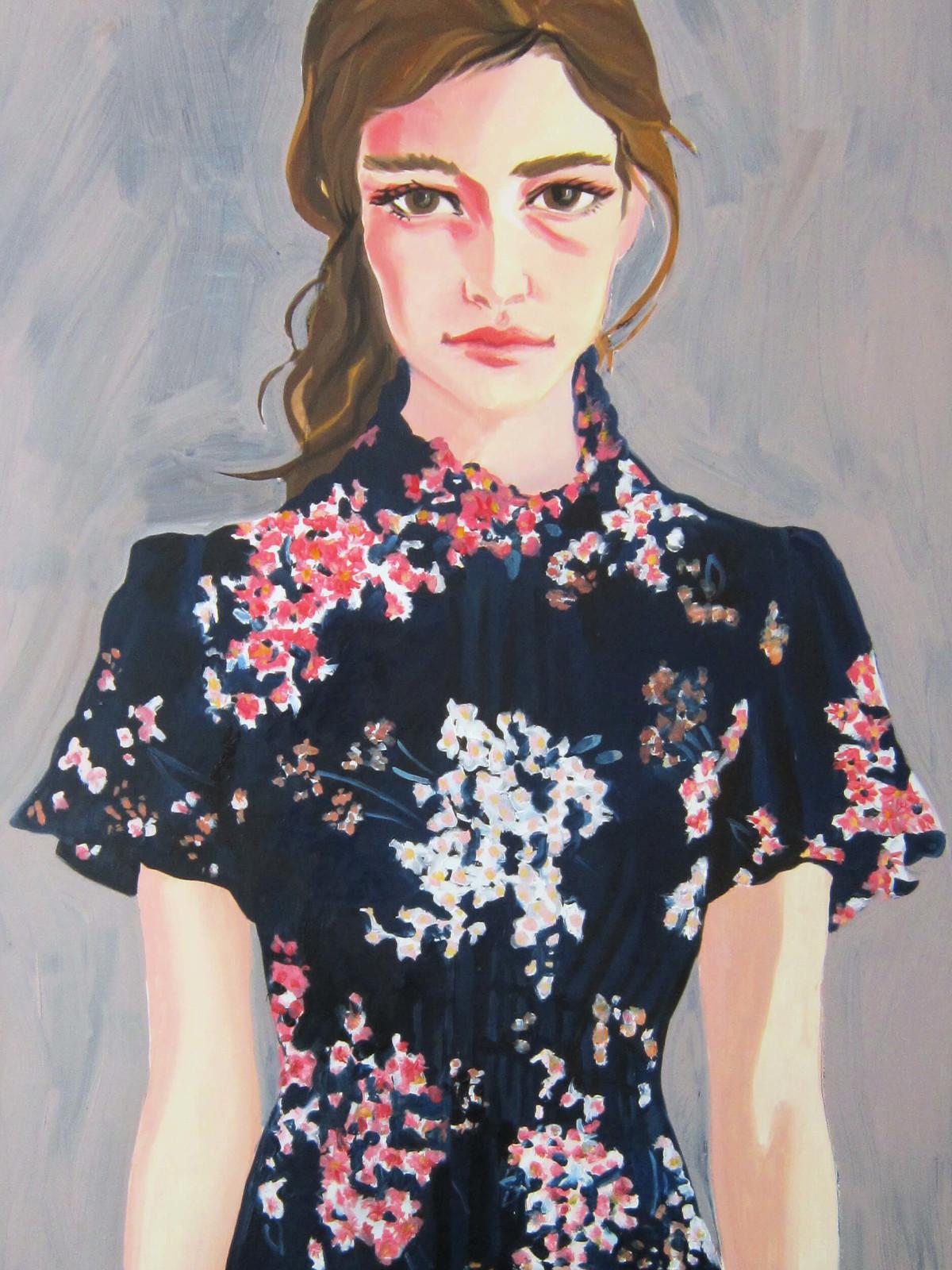Rebecca Taylor designer inspiration sketch spring 2017