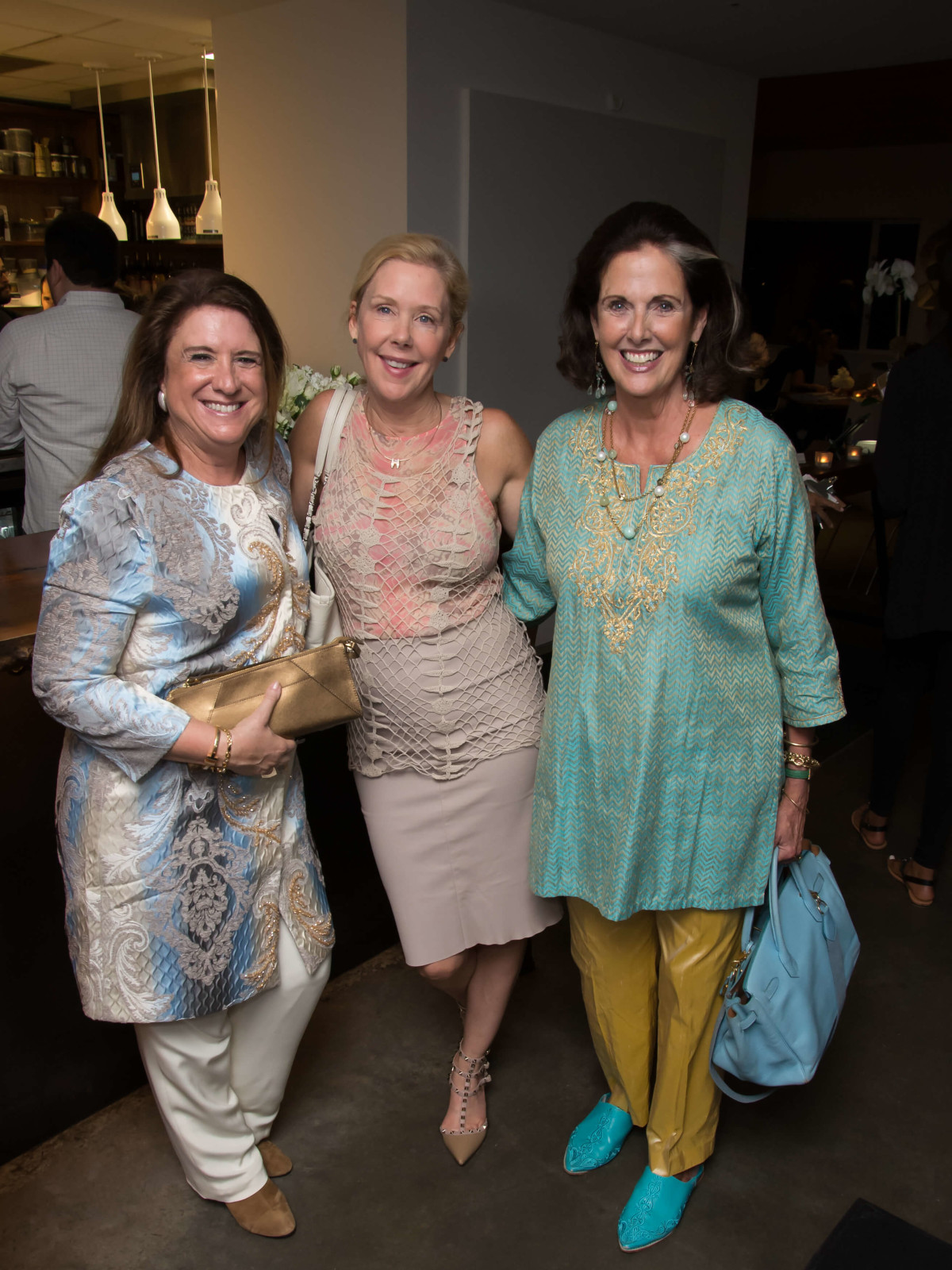 PaperCity launch party, 9/16, Deborah Colton, Laura Rathe, Christina Girard