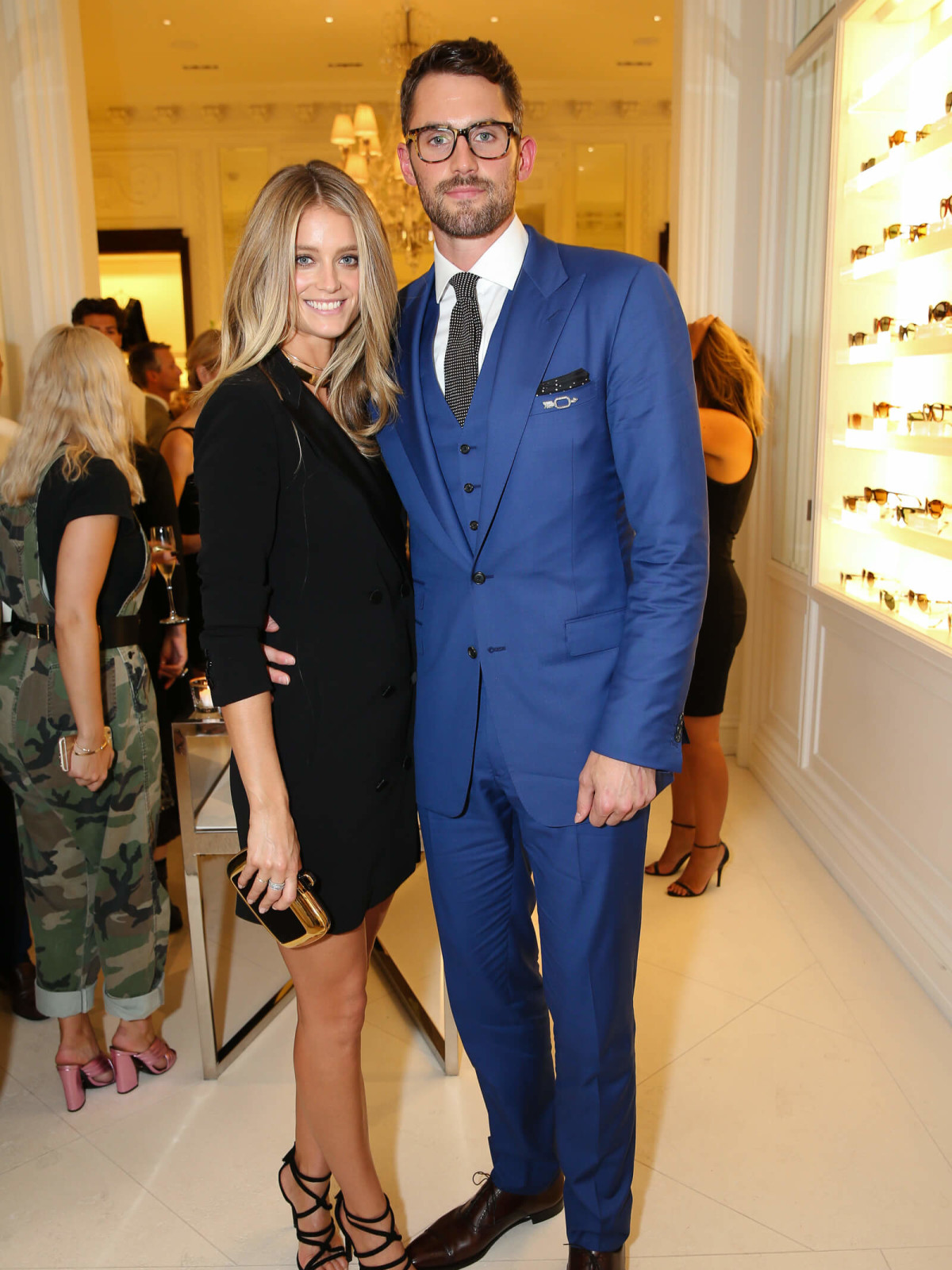 Kate Bock, Kevin Love at Ralph Lauren runway show