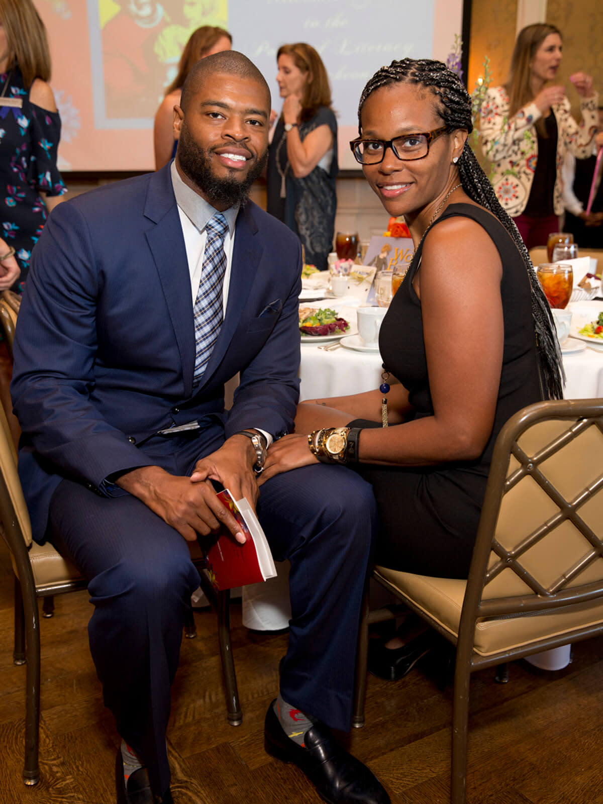 Ladies for Literacy, 9/16, Wade Smith, Rita Smith