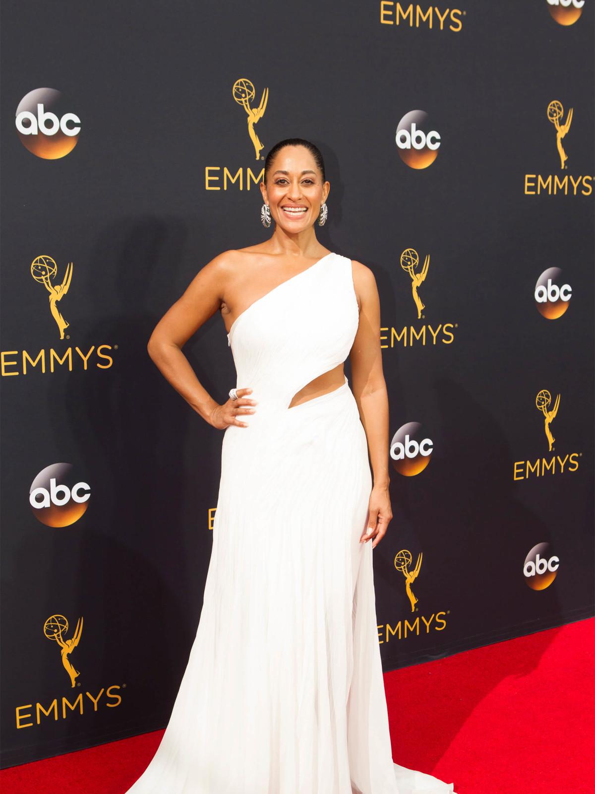 Tracie Ellis Ross in Ralph Lauren gown at Emmy