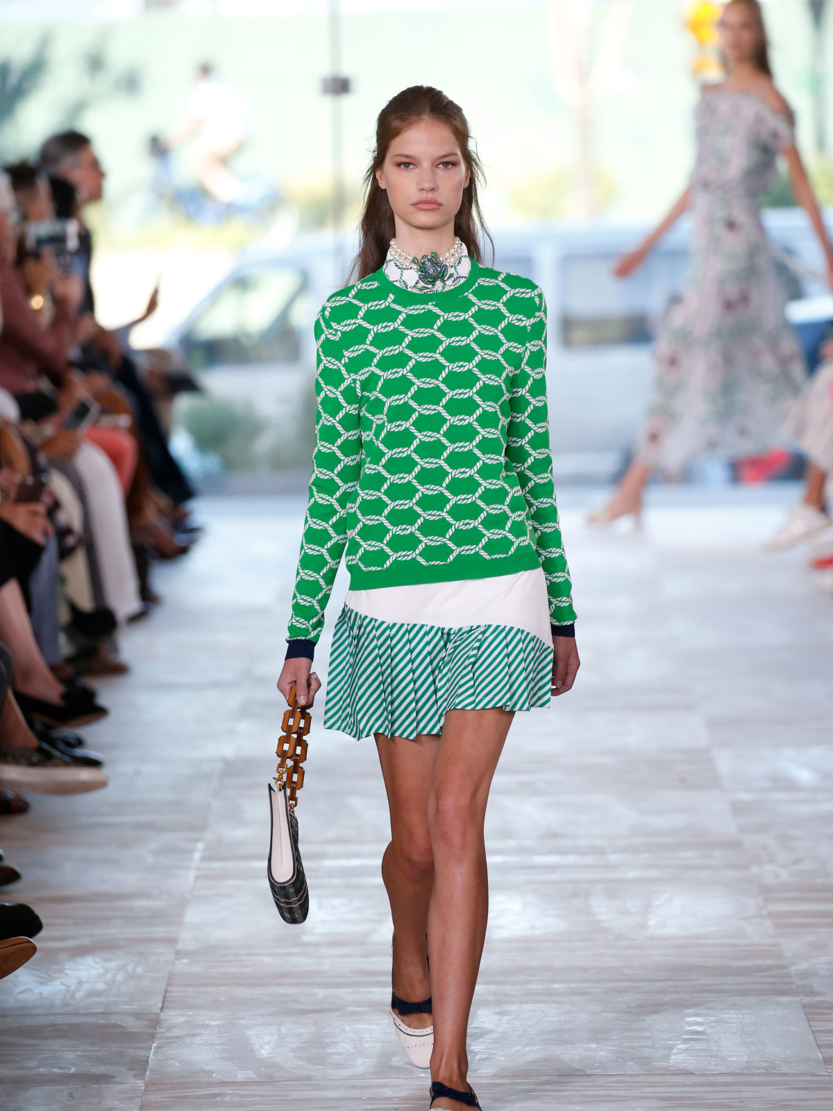 Tory Burch spring 2017 collection look 2
