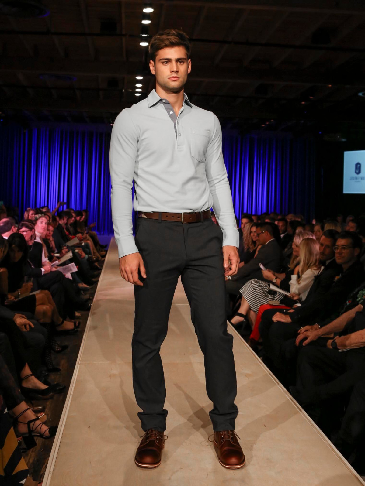 TRIBEZA Style Week Fashion Show 2016 at Brazos Hall Criquet Journeyman Clothier Zilker Belts