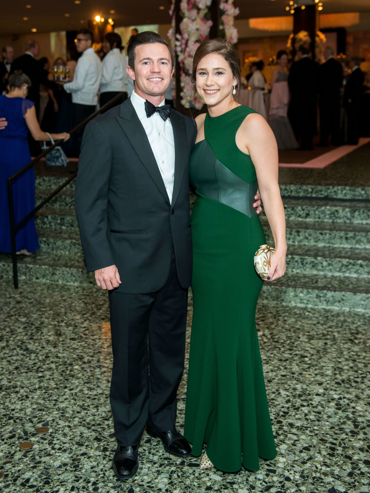 Krystal Thompson, Garrett Thompson at Museum of Fine Arts Gala