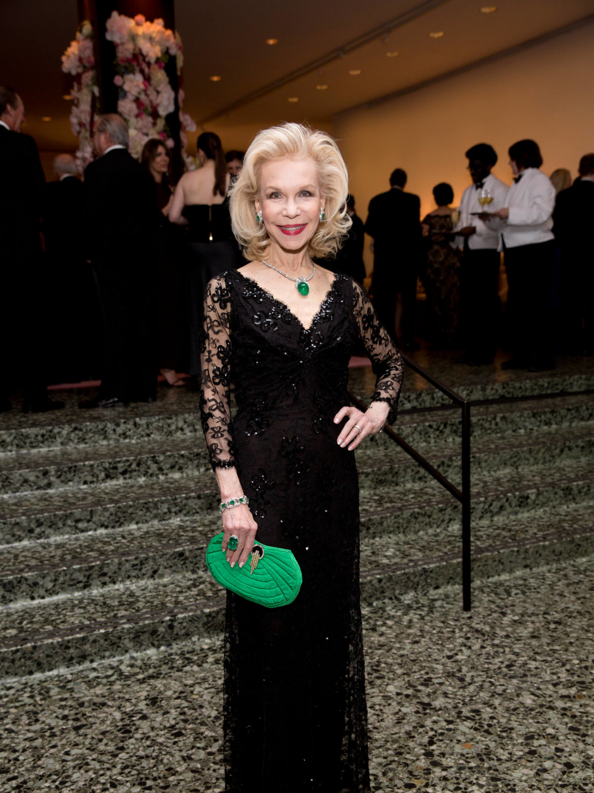 Lynn Wyatt at Museum of Fine Arts Grand Gala Ball