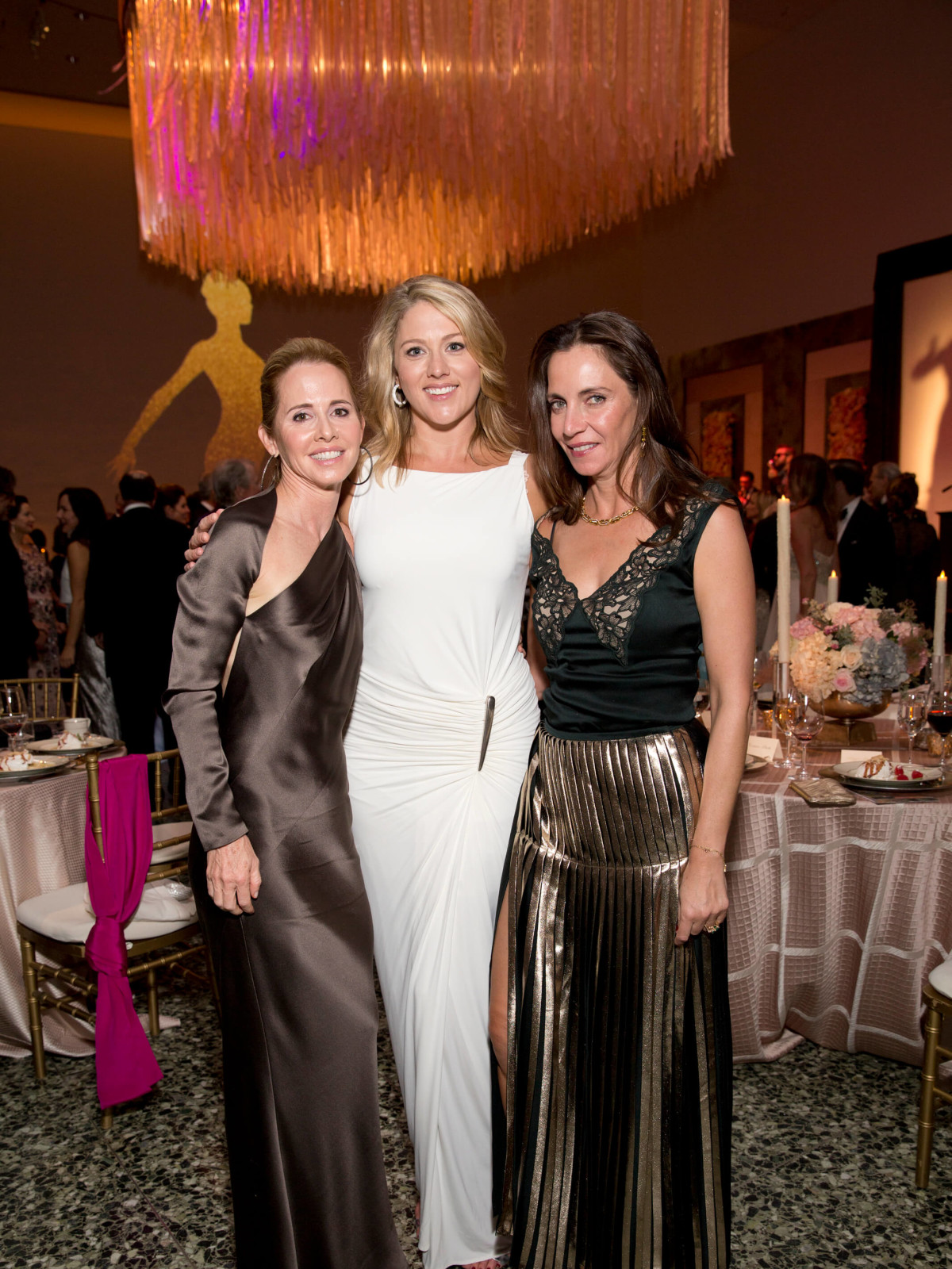 Martha Long, Amy Purvis, Aliyya Stude at Museum of Fine Arts Grand Gala Ball