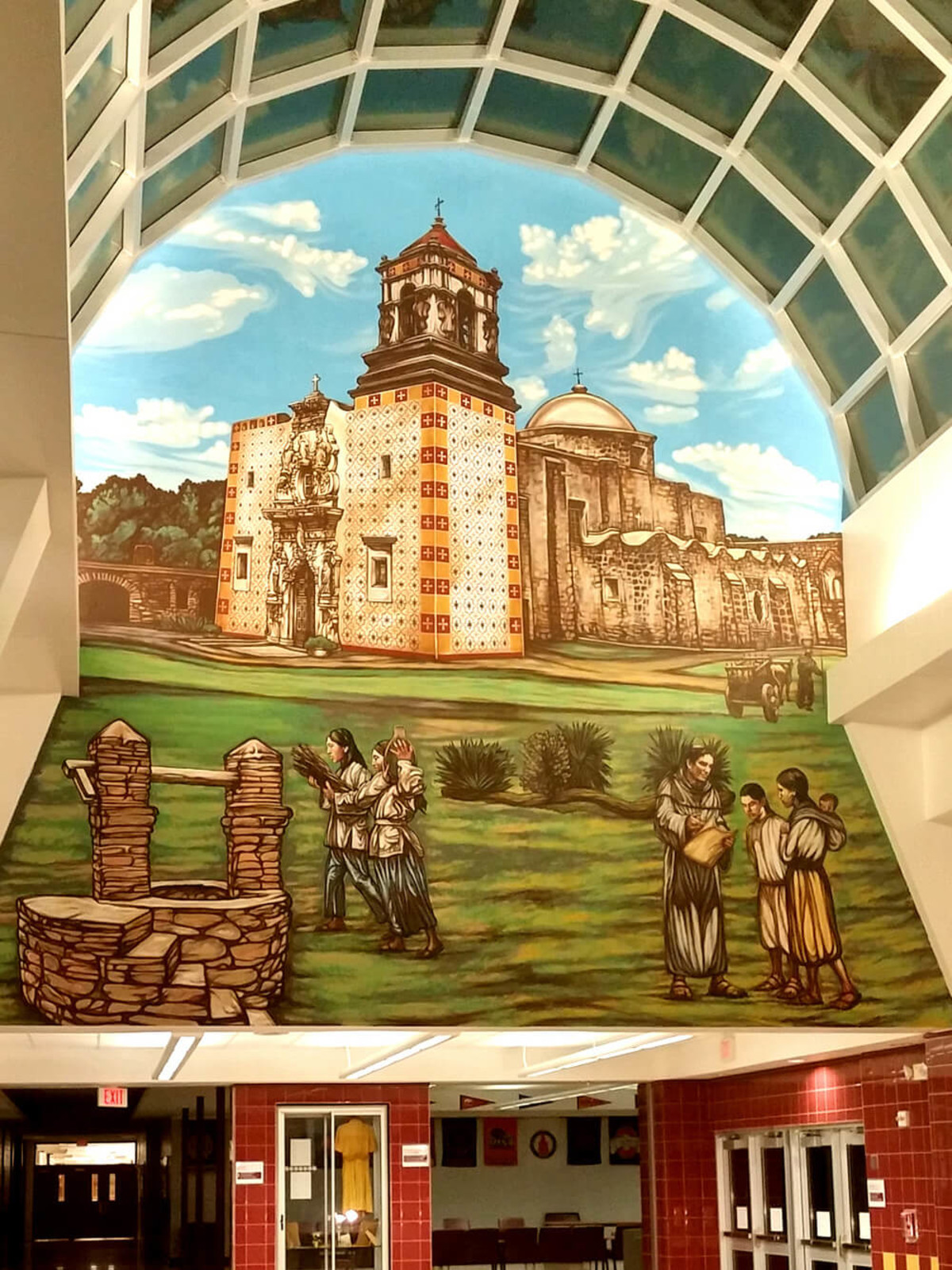 Queen of the Spanish Missions by David Blancas at Harlendale High School