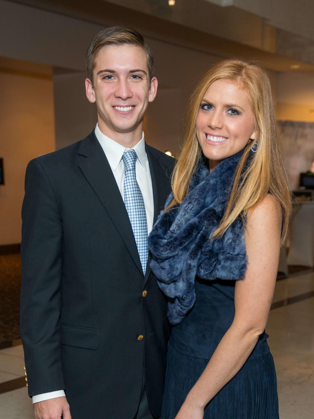 Daniel Hartland and Amber Hartland at Mission of Yahweh