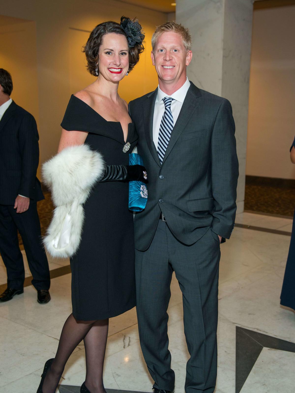 Elizabeth Baird, Michael Baird at Mission of Yahweh gala