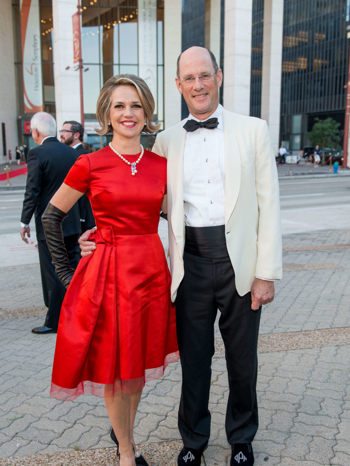 Jones Hall 50th Ball, Co-chairs David and Alexandra Pruner