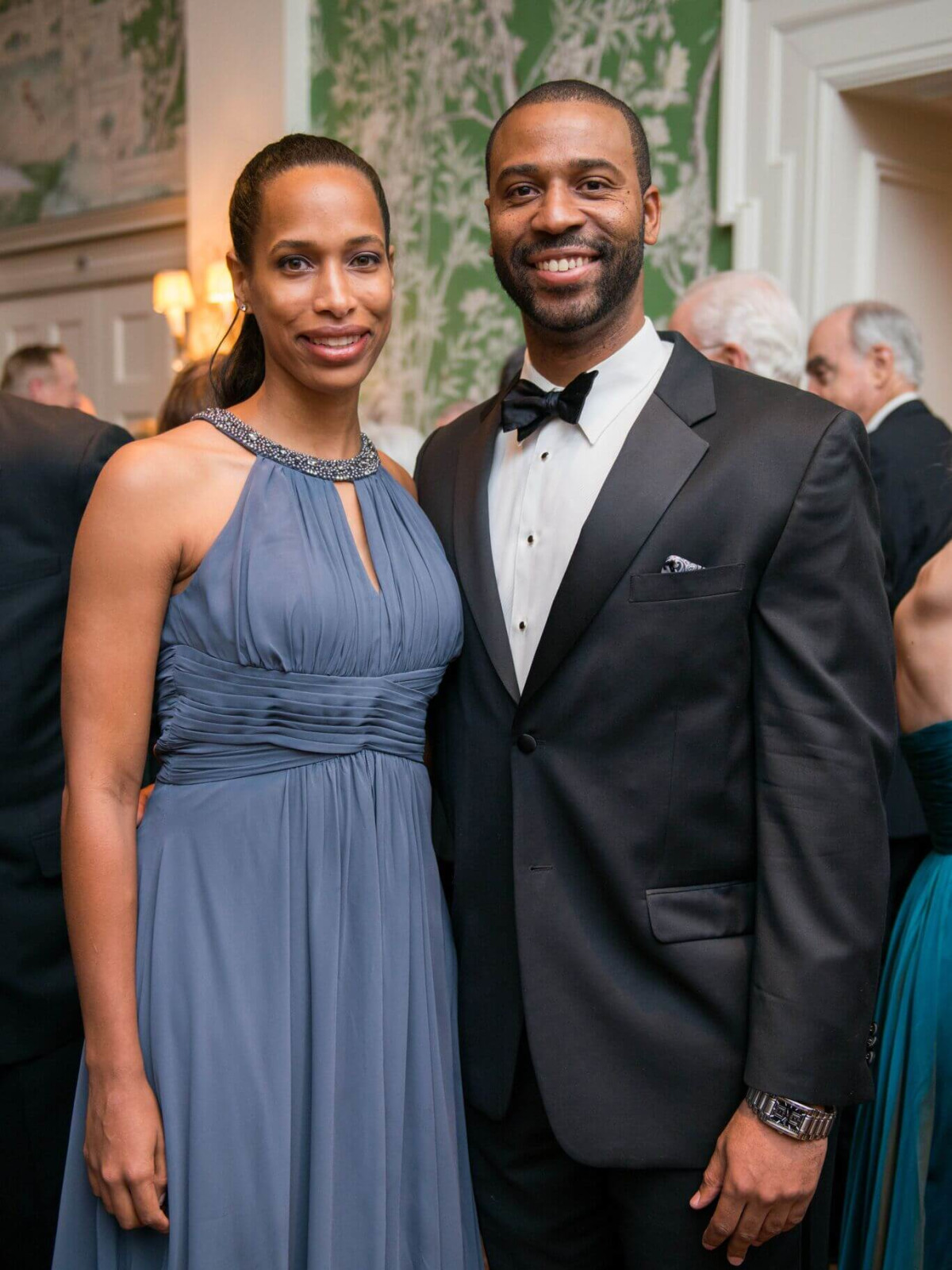 Chelsey Hayes, Kenny Baugh at Rice Honors Gala
