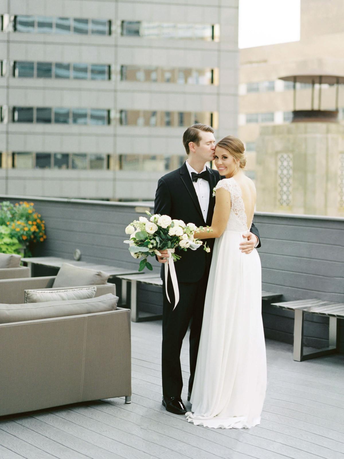 Jordan and Hunter Phillips, Real Weddings Series