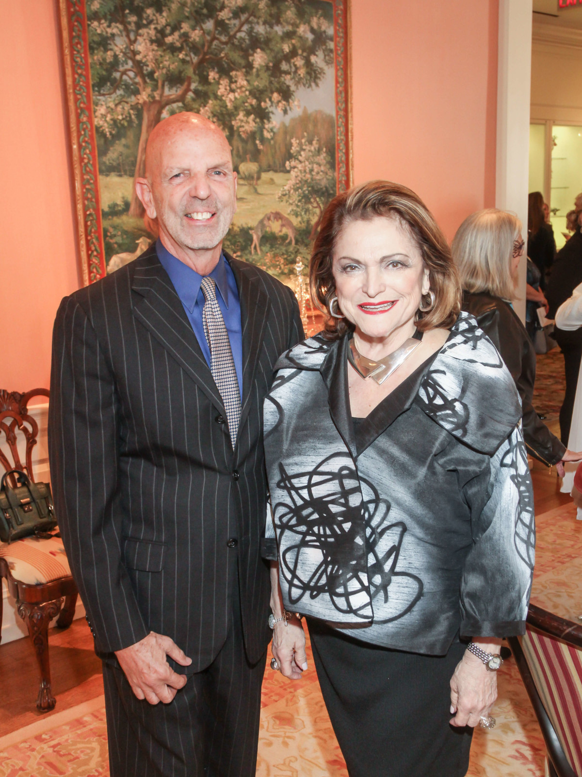 Clifford Pugh, Beth Wolff at Art of Conversation