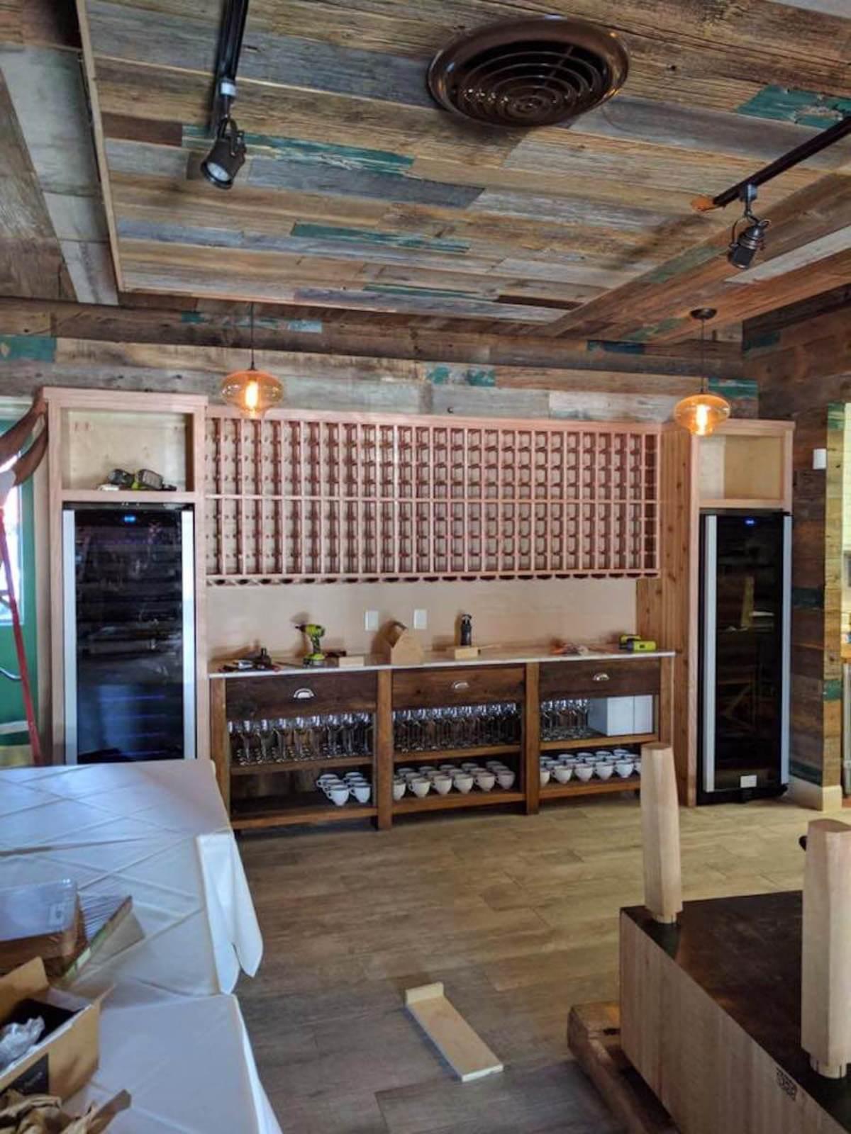 Killen's STQ wine storage