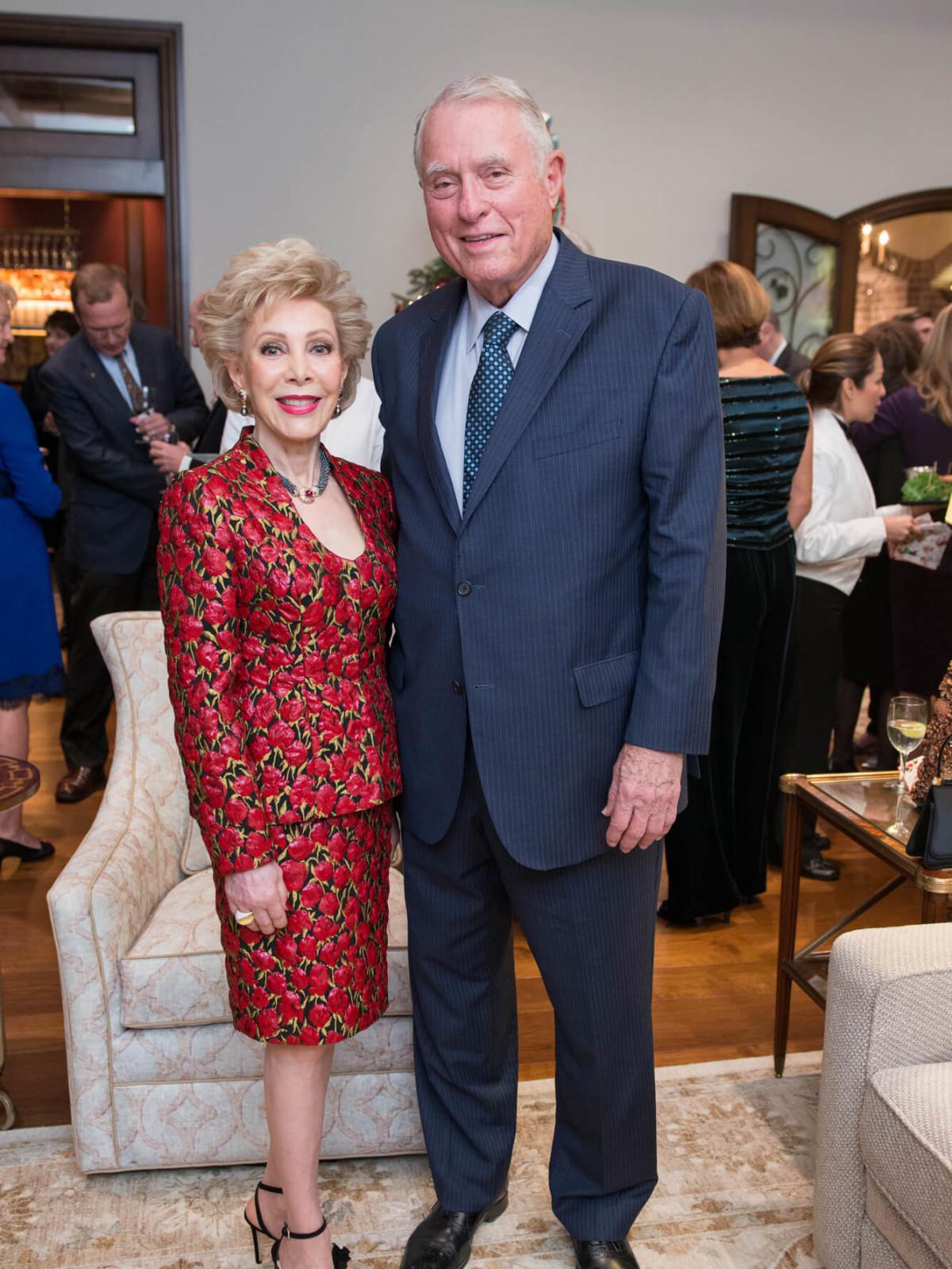 Celebration of Reading Author Reveal and Holiday Soirée-Margaret Alkek Williams, Jim Daneil