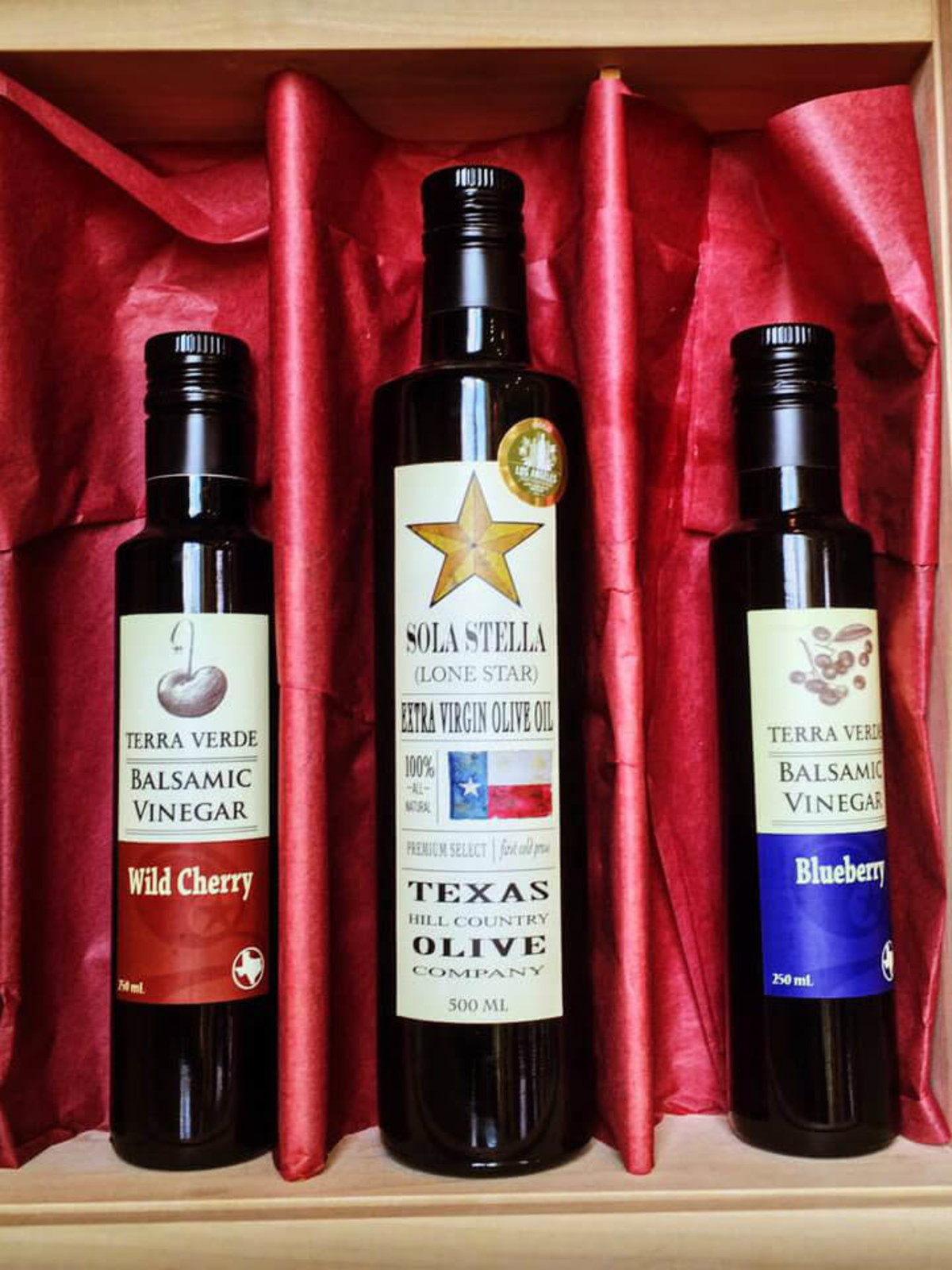 Texas Hill Country Olive Oil gift box