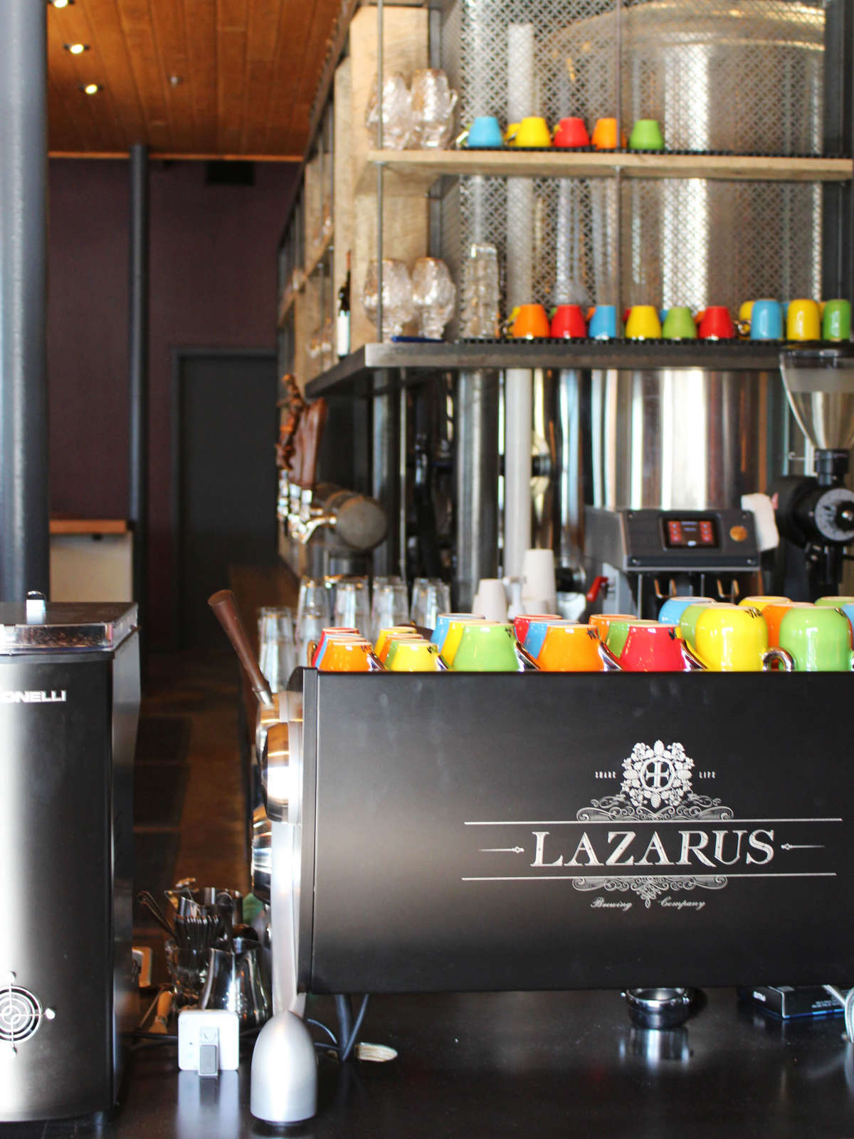 Lazarus Brewing Company brewery Austin coffee