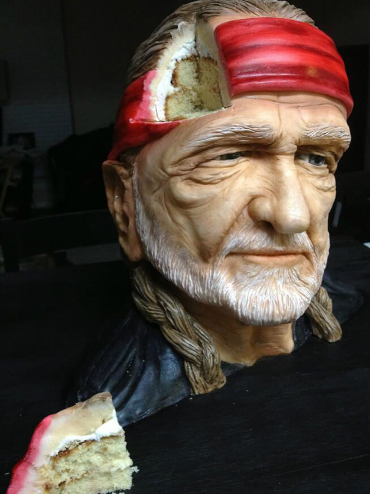 Sideserf Cake Studio Willie Nelson