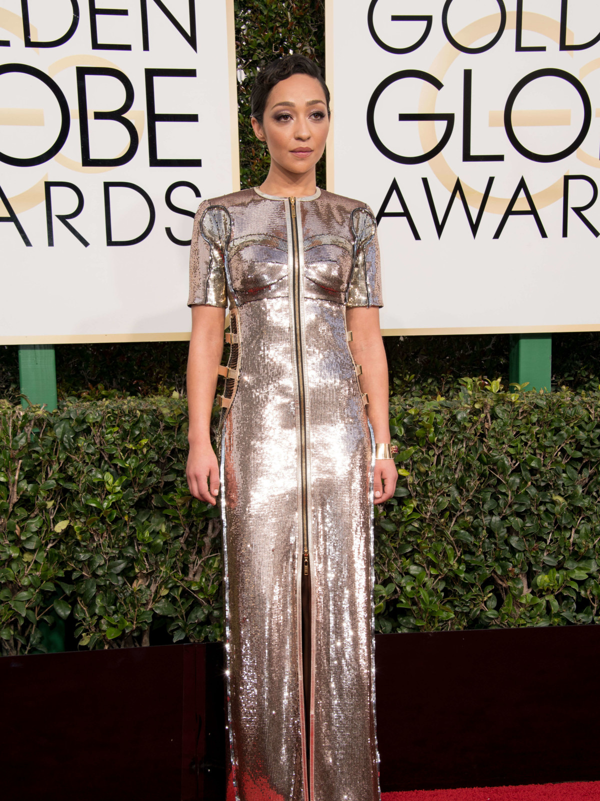 Ruth Negga at Golden Globes 2017