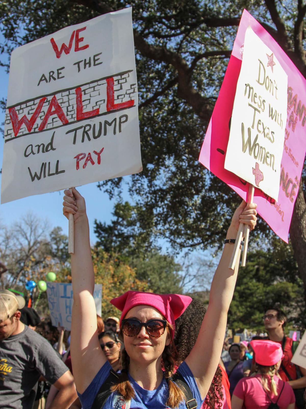 Women's March Austin Skyla