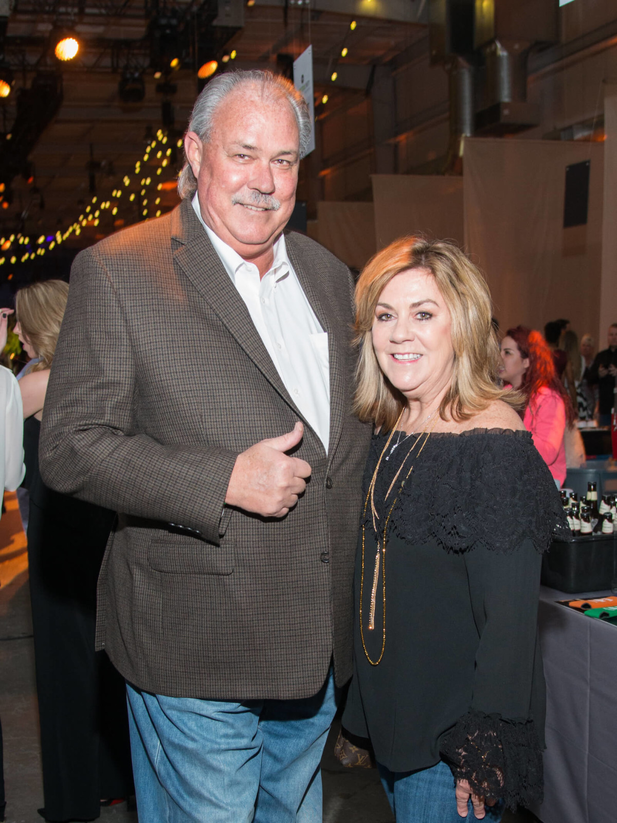 Carl Mitchell, Robin Mitchell at Big Texas Party