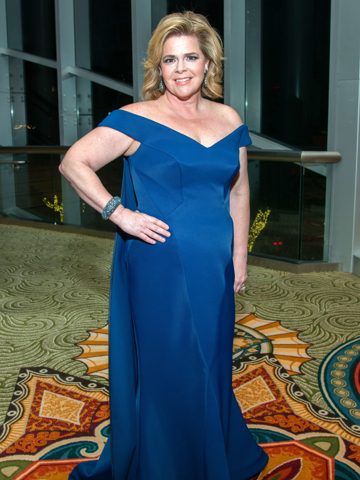 Houston, Women of Distinction fashionable gowns, Feb 2017, Kelli Weinzierl