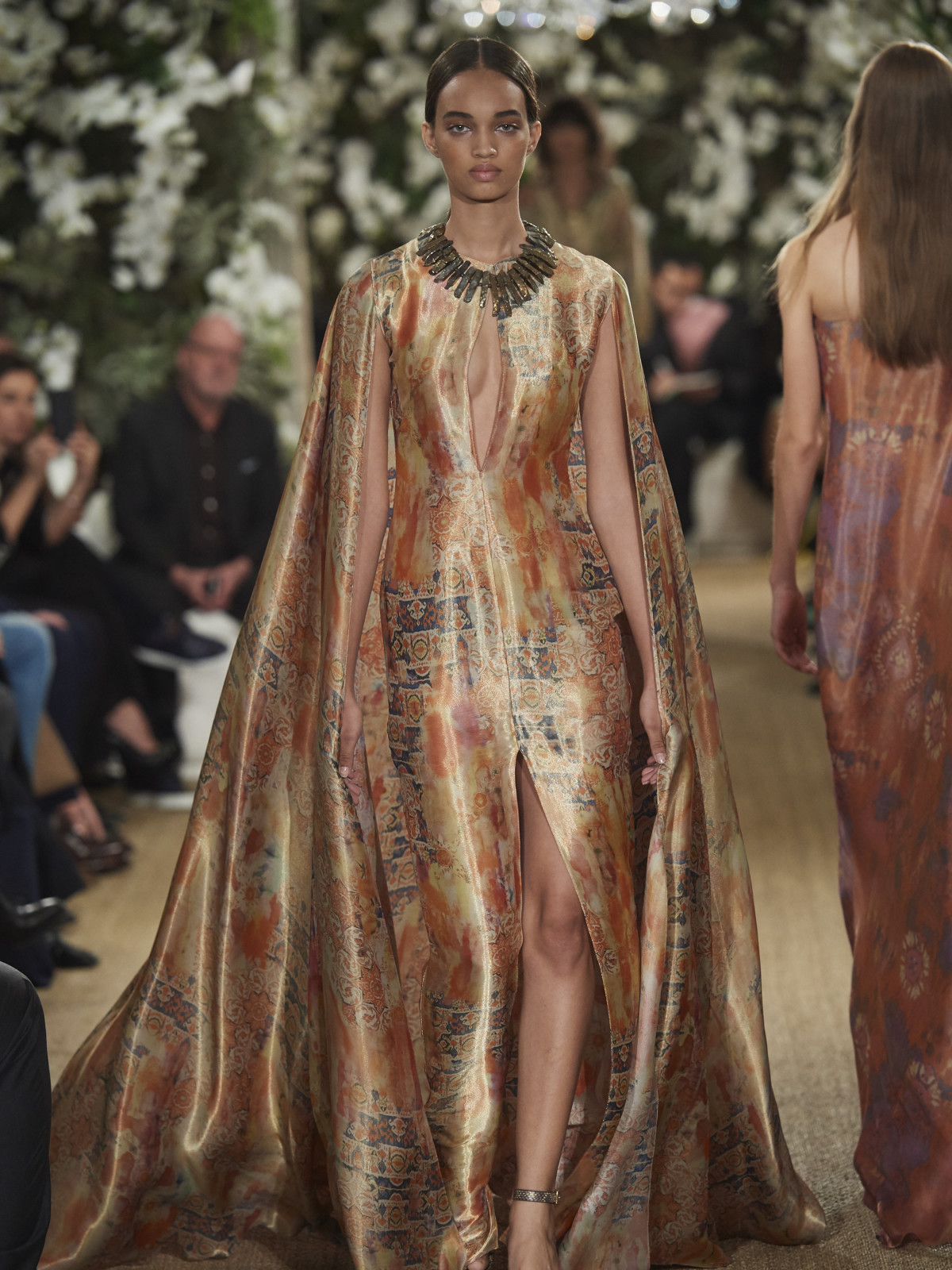 Ralph Lauren fall 2017 gown look 35