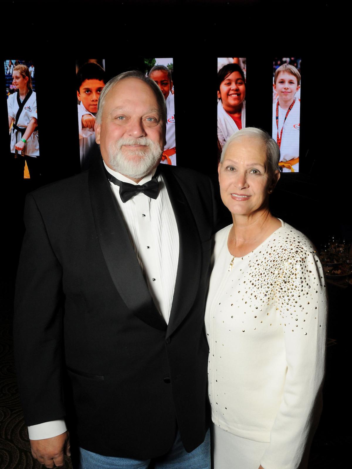 Kickstart gala John Gibson Jr, Elizabeth Gibson