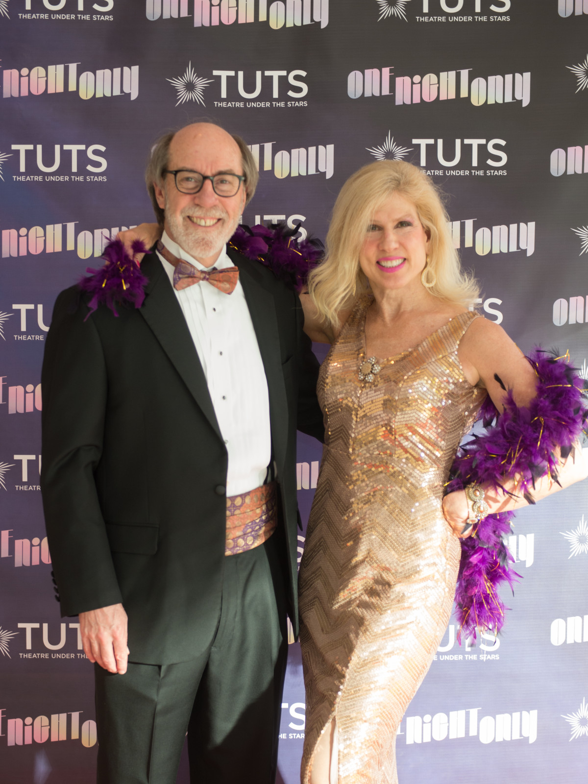 Cal and Connie Dalton at 2017 TUTS Dreamgirls Gala