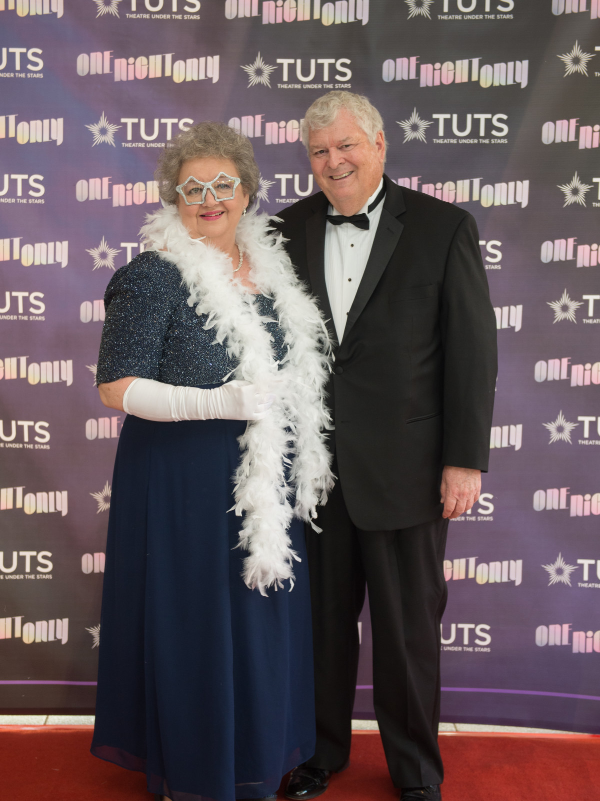 Deborah and Adrian Shelley at 2017 TUTS Dreamgirls Gala