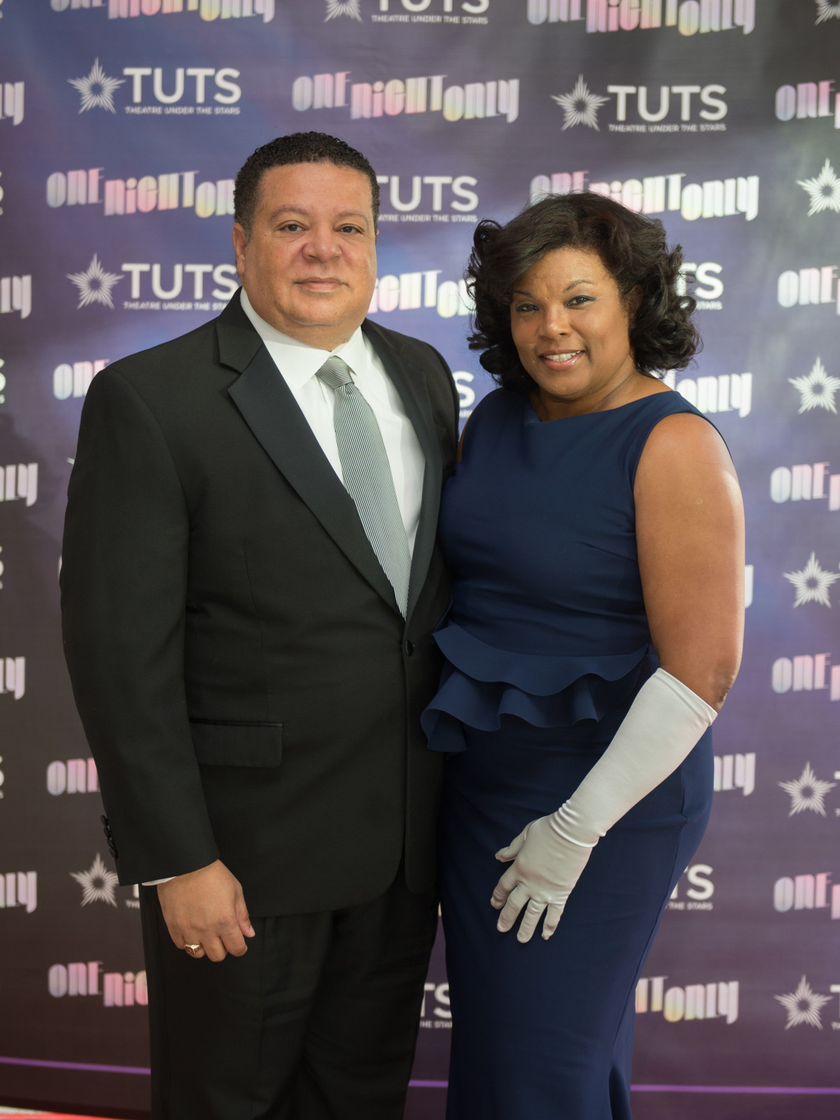 Frank and Demetra Jones at 2017 TUTS Dreamgirls Gala