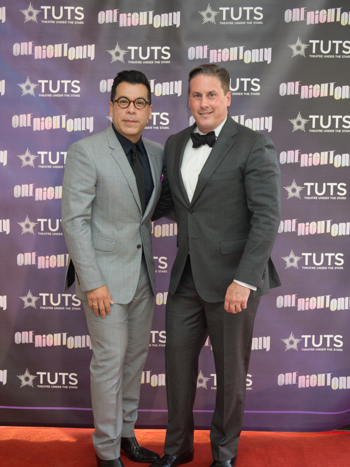 Jay Landa, Daniel Turner at 2017 TUTS Dreamgirls Gala