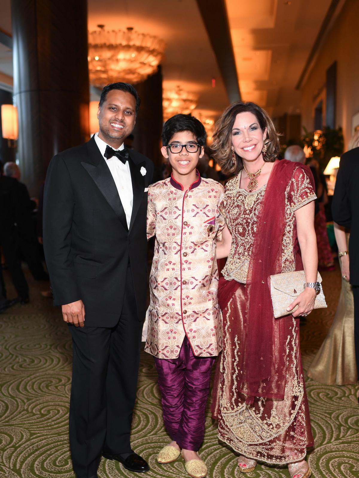 Pratham Gala, Dr. Aashish Shah, Nikil Shah, Roseann Rogers