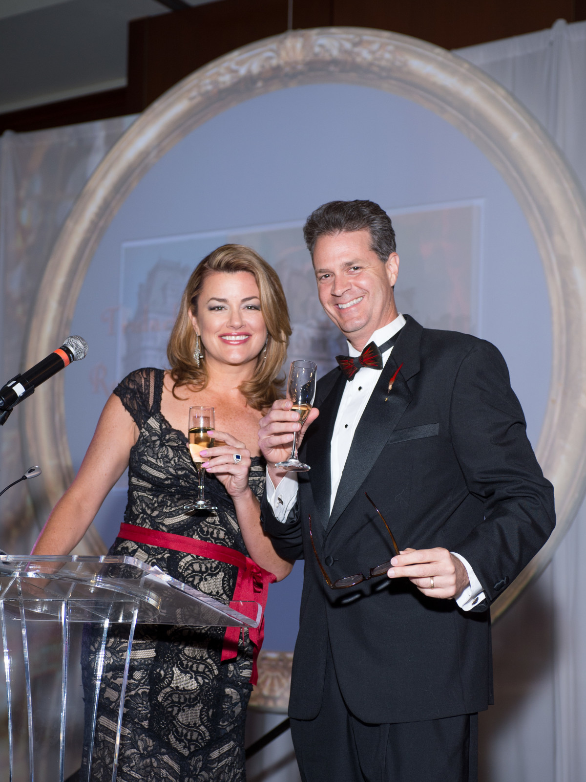 Miranda Sevsik, David Paul emcees at Convenant House Gala 2017