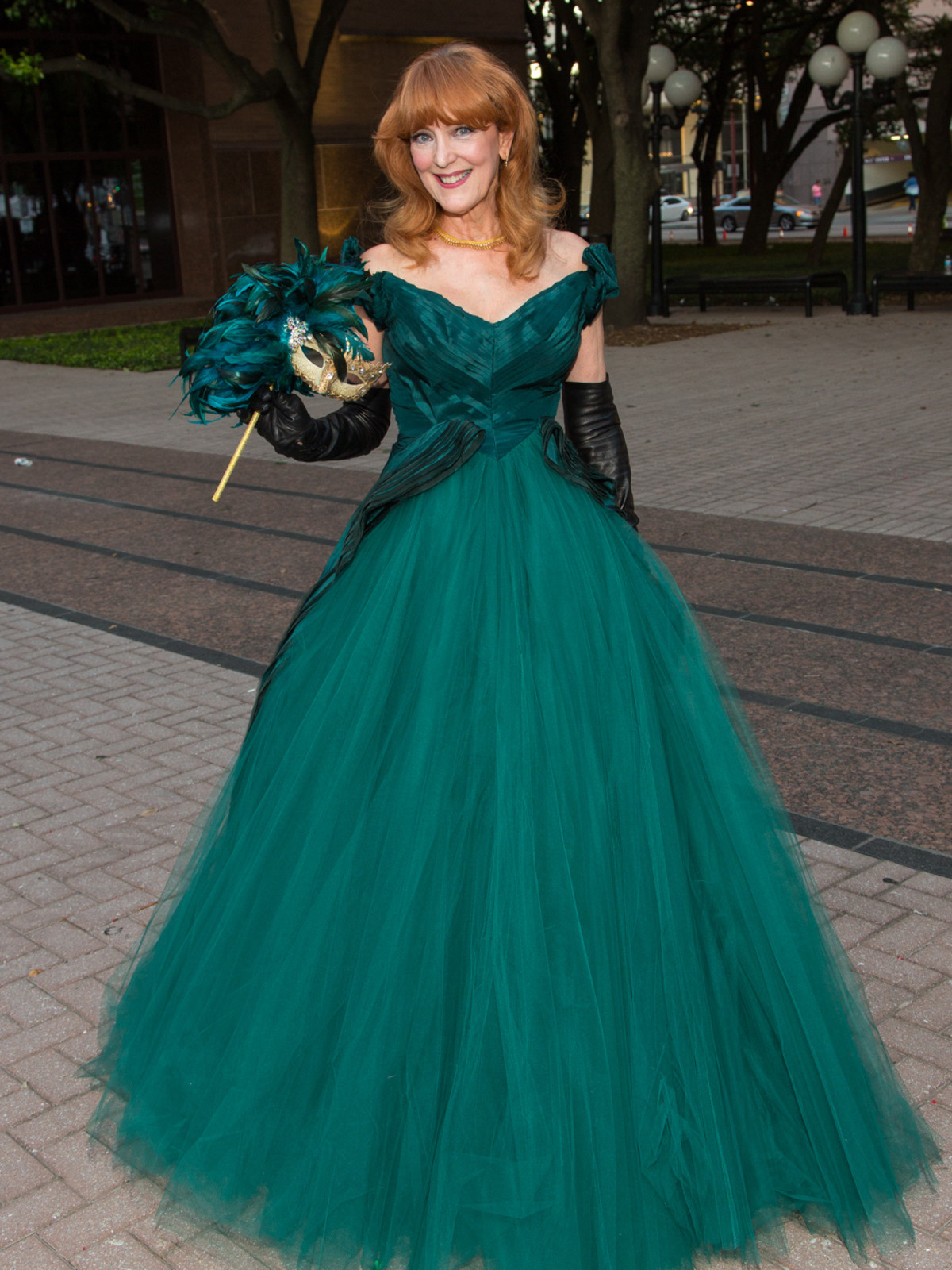 Houston, HGO opera ball, April 2017, Gracie Cavnar