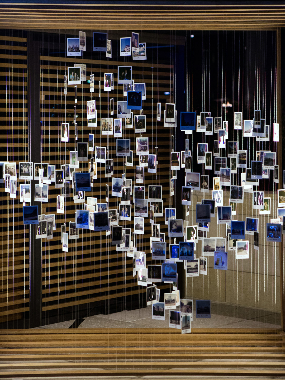 Houston, Marriott Marquis grand opening party, April 2017, Texas-shaped photo wall