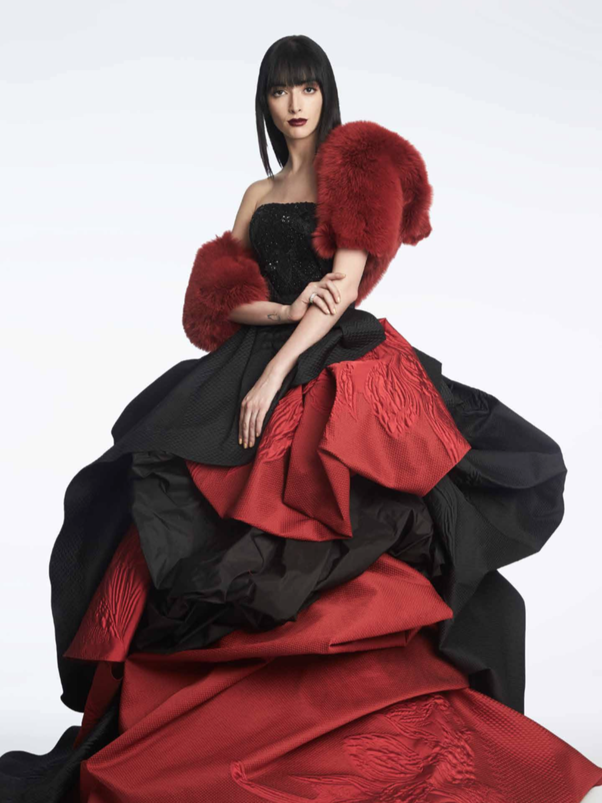 Rubin Singer fall 2017 gown