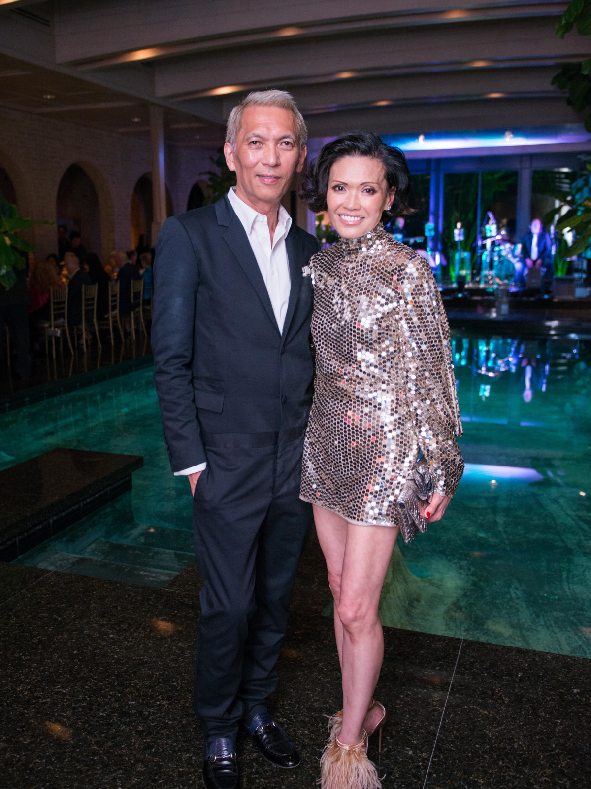 Marc and Duyen Nguyen at Recipe for Success dinner