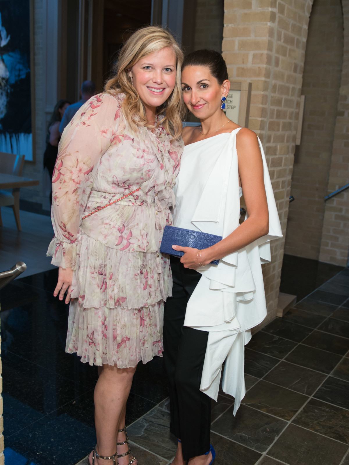 Melissa Sugulas, Jennifer Swallen at Recipe for Success party