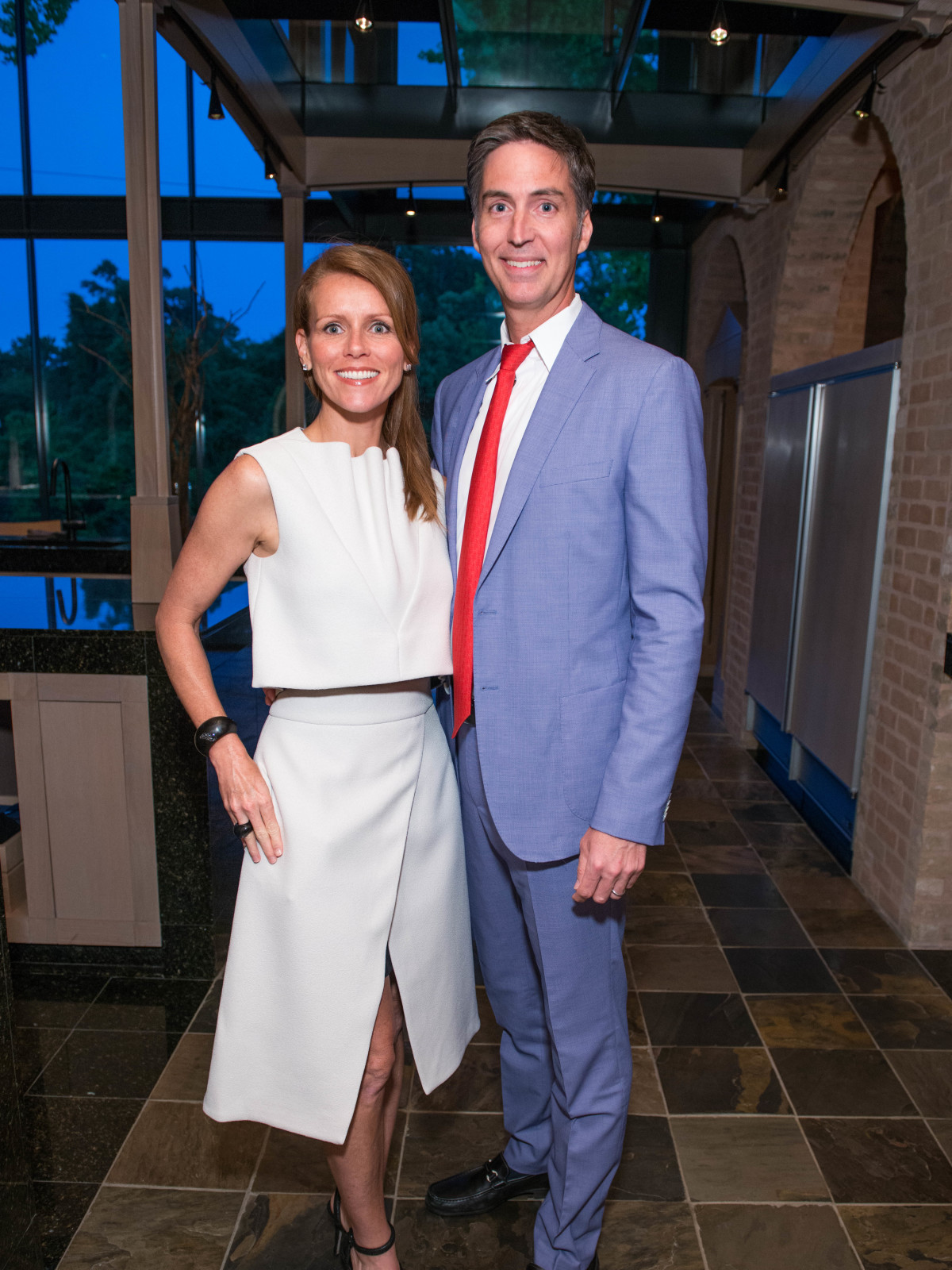 Genevieve Patterson, Shawn Patterson at Recipe for Success dinner