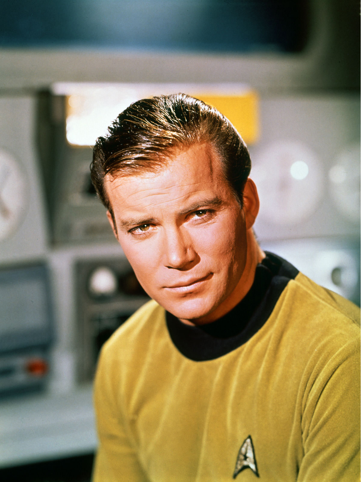 William Shatner as Captain James T. Kirk