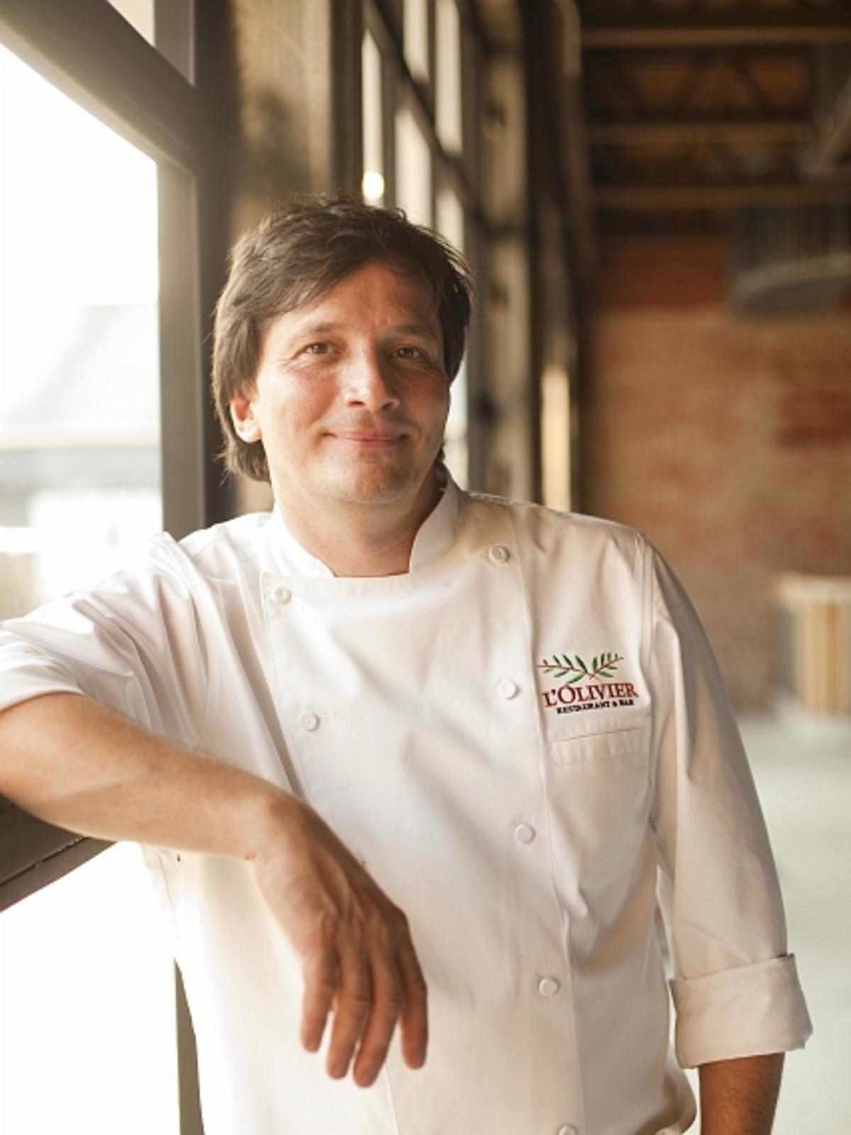 Chef Olivier Ciesielski of L'Olivier Restaurant