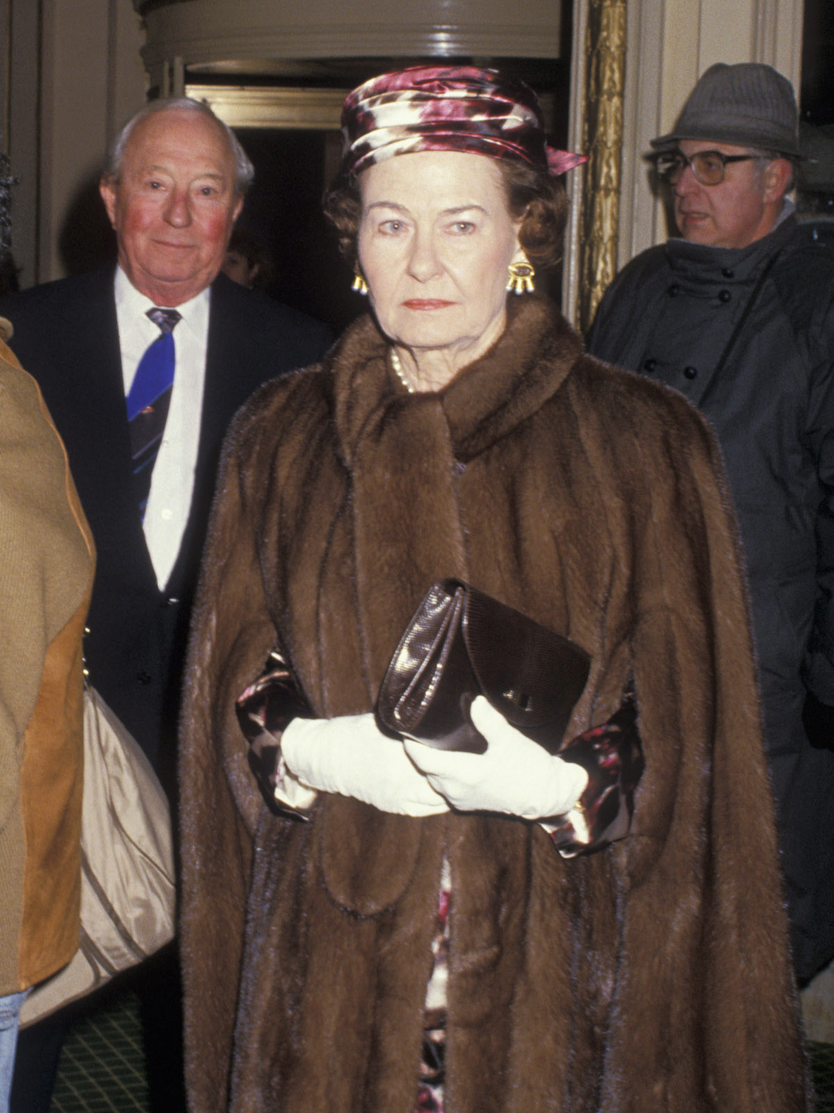 Nancy Lee Bass, wedding of Sid Bass and Mercedes Kellogg at Plaza Hotel in New York City, Dec. 10, 1988